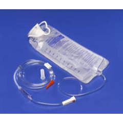 MON73614601 - MedtronicEnteral Feeding Pump Bag Set Kangaroo Anti-Free Flow 1000 mL
