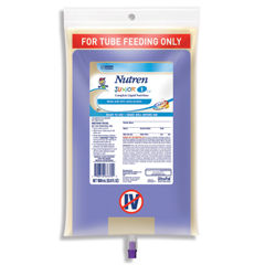 MON73812600 - Nestle Healthcare NutritionTube Feeding Formula Nutren Junior® 1 kcal /mL Unflavored 1000 mL, 6EA/CS