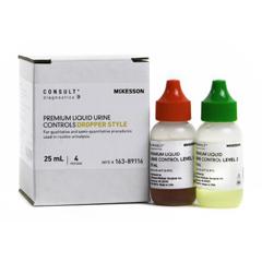 MON1057384BX - McKesson - Urine Chemistry Premium Liquid Urine Diptube Controls, 4/BX