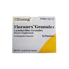MON73912700 - Rising PharmaceuticalsProbiotic Dietary Supplement Floranex Granules® 12 per Box Granules