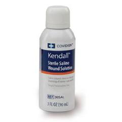 MON73952112 - Cardinal Health - Kendall™ Sterile Saline Wound Solution, 3 oz. Spray Can
