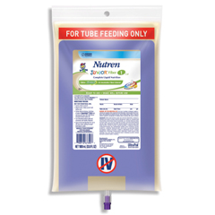 MON74002600 - Nestle Healthcare NutritionPediatric Tube Feeding Formula Nutren Junior® Fiber 1.0 kcal / mL Unflavored 1000 mL, 6EA/CS