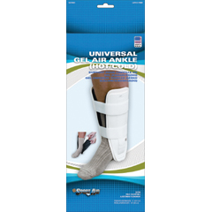 MON74023000 - Scott SpecialtiesAnkle Support Sport-Aid® Short, Trainer Hook and Loop Closure Left or Right Ankle