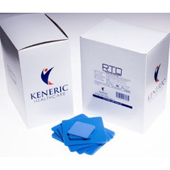 MON74142100 - Keneric Healthcare - RTD® Foam Dressing with Silver (RTD72040414), 20/BX