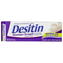 MON864595EA - Johnson & Johnson - Desitin® Maximum Strength Diaper Rash Treatment (10074300000715)