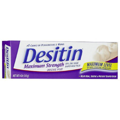 MON864595CS - Johnson & Johnson - Desitin® Maximum Strength Diaper Rash Treatment (10074300000715), 36/CS