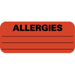 MON74534700 - Mabis HealthcareLabel Allergy 500EA/BX