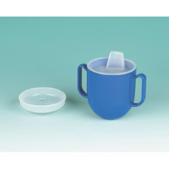 MON74594000 - MaddakSpillproof Drinking Cup Ableware 6.5 oz. Clear Plastic