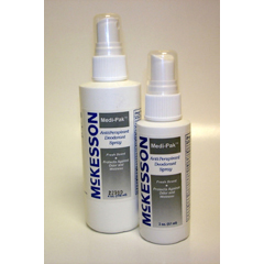 MON75001708 - McKessonDeodorant Medi-Pak® Spray 4 oz. Fresh Scent, 48EA/CS