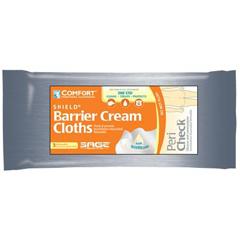 MON75033190 - Sage ProductsBarrier Cream WashCloths Comfort Shield® Easy Tear Package Disposable, 3EA/PK 90PK/CS