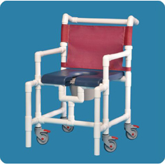 MON75033300 - Innovative ProductsIPU Midsize Commode / Shower Chair (SCC750MSN)