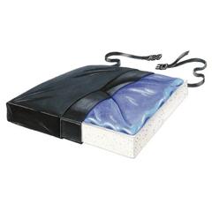MON75114300 - Skil-CareSeat Cushion Sittin Pretty® 16 X 18 X 2-1/2 Inch Gel / Foam