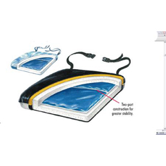 MON75124300 - Skil-CareSeat Cushion Thin-Line® 16 X 18 X 1-1/2 Inch Gel