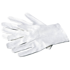 MON75131300 - Apex-CarexInfection Control Glove Soft Hands Small / Medium Cotton White Hemmed Cuff