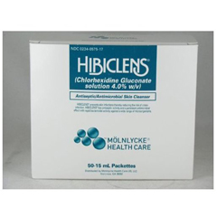 MON75171800 - Molnlycke HealthcareSurgical Scrub Hibiclens 15 mL Individual Packet 4% Chlorhexidine Gluconate (CHG)