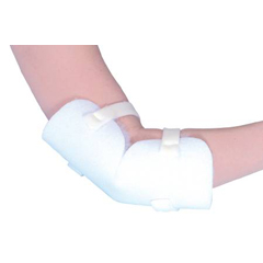 MON75191300 - Mabis HealthcareElbow Protector One Size Fits Most White