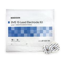 MON75202550 - McKessonECG Monitoring Electrode Monitoring Adult Diaphoretic Foam Non-Radiolucent