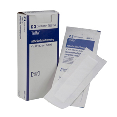 MON75422000 - MedtronicTelfa Adhesive Island Dressings 2in x 8in Pad Size 4in x 10in Overall