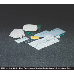 MON75511900 - Bard MedicalIntermittent Catheter Tray Bard Urethral / Straight 16 Fr. Without Balloon Plastic