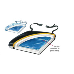 MON75514300 - Skil-CareSeat Cushion Econo-Gel 16 X 18 X 2 Inch Gel / Foam