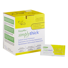 MON75662600 - Simply Thick - EasyMix™ Honey Consistency (L3) Food Thickener, 12g Individual Servings