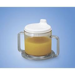 MON75964001 - Maddak - Drinking Mug Ableware 8 oz. Clear Plastic