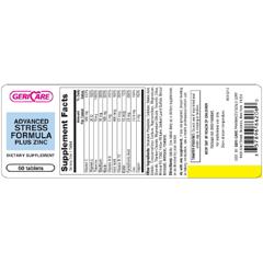 MON76102700 - McKessonStress Plus Zinc Supplement Tablet 60 per Bottle