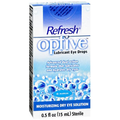 MON76212700 - Allergan PharmaceuticalLubricant Eye Drops Refresh Optive 15 mL