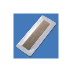 MON76232101 - Argentum Medical - Silver Dressing Silverlon Island 4 X 10 Inch Rectangle Sterile, 1/ EA