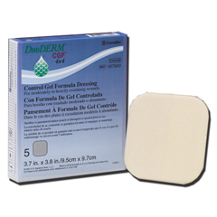 MON76582100 - Convatec - Duoderm Cgf Sterile Dressing 4in x 4in Water Resistant Surface