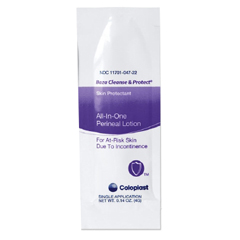 MON77101800 - ColoplastPerineal Wash Baza Cleanse and Protect Lotion 4 Gram Individual Packet