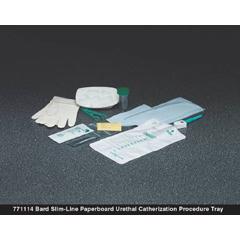 MON77111900 - Bard MedicalIntermittent Catheter Kit Bard 14 Fr. PVC