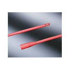 MON201138CS - Bard Medical - Urethral Catheter Robinson / Nelaton Tip Red Rubber 14 Fr. 16