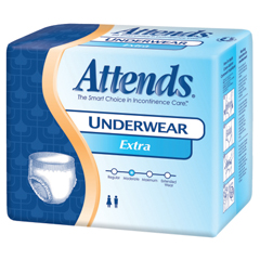 MON77203101 - AttendsModerate Absorbency Protective Underwear, Medium, 100/CS