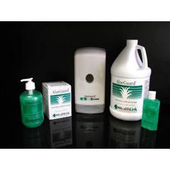 MON77251824 - HealthlinkAntimicrobial Soap AloeGuard® Liquid 4 oz. Flip-top Bottle, 24/CS
