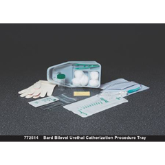 MON77251920 - Bard MedicalIntermittent Catheter Tray Bard Bilevel Urethral 16 Fr. Without Balloon Plastic