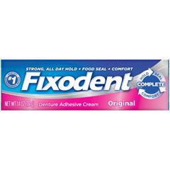 MON77381700 - Procter & GambleDenture Adhesive Fixodent Original 1.4 oz. Cream