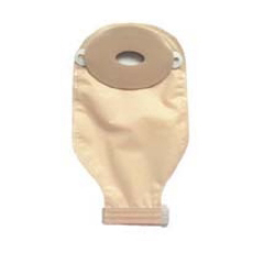 MON77444900 - Nu-Hope LabsOstomy Pouch One-Piece System 1-1/8 to 2 Inch Stoma Drainable Oval, Deep Convex, Trim To Fit, 10EA/BX