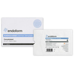 MON77542101 - Aroa - Antimicrobial Dressing Fenestrated Endoform Collagen 2 X 2 Inch, 1/ EA