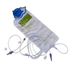 MON960251EA - Cardinal Health - Enteral Feeding Pump Spike Set with Bag Kangaroo epump ENPlus 1000 mL