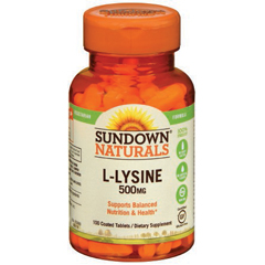 MON78202700 - US Nutrition - L-Lysine Dietary Supplement, 500mg, 100/BT, 100/BT