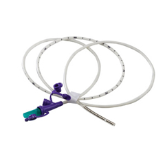 MON78414600 - MedtronicKangaroo™ Nasogastric Feeding Tube, 3 g Weighted Tip, Rigid Port, No Stylet, 8 Fr. x 43