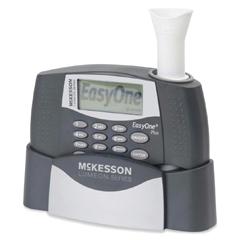 MON78545700 - McKessonSpirometer Kit LUMEON Digital Reusable Card / Disposable Mouthpiece
