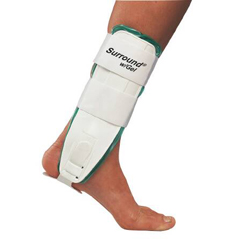 MON78673000 - DJOAnkle Support Surround® with Gel Large Hook and Loop Closure Left or Right Ankle
