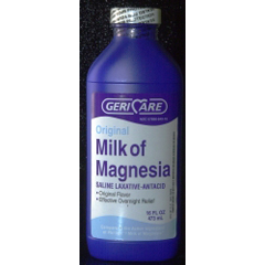 MON78962700 - McKesson - Laxative Original Liquid 384 mL 400 mg / 5 mL Strength Magnesium Hydroxide