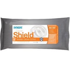 MON385623PK - Sage Products - Comfort Shield® Barrier Cream Cloths