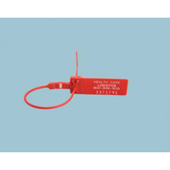 MON79073200 - Health Care LogisticsBreakable Security Seal Red 9-1/2 Inch, 100EA/PK