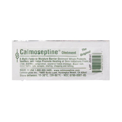 MON79151400 - Calmoseptine - Ointment Foil Packets 1/8 Oz 3.5G for Rashes & Irritated Skin