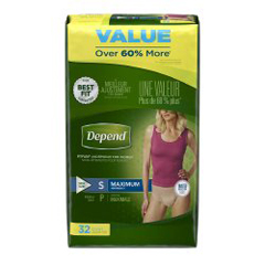 MON79203102 - Kimberly Clark ProfessionalDepend® FIT-FLEX® Pull On Adult Absorbent Underwear