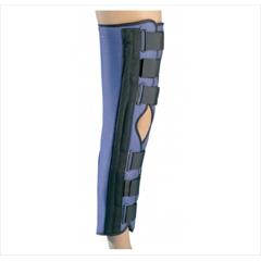 MON79253000 - DJONonHinged Knee Immobilizer PROCARE® Medium Hook and Loop Closure 20 Inch Length
